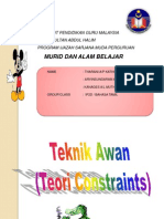 29901774 Teknik Awan Tecnique of Constraints TOC