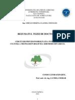 112173659 Cultivarea Trufelor Rezumat Teza Doctorat