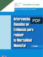 Intervenciones Basadas en Evidencia para Disminuir Mortalidad Neonatal. Feb 2011