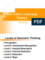 Van Hiele Learning Theory