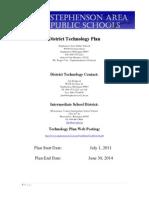 stephenson tech plan