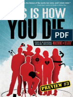 THIS IS HOW YOU DIE – Preview Story 3 - DROWNING BURNING FALLING FLYING