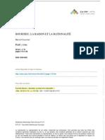 【Carin】Bourdieu, la raision et la rationalite