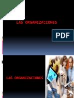 1. Las Organizaciones