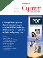 Bipolar Disorder Current Psychiatry