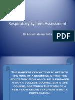 02-Respiratory System Assessment