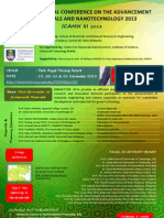 3rd International Conference on the Advancement of Materials and Nanotechnology 2013 – ICAMN III 2013