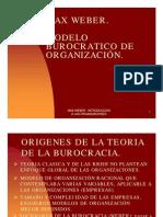 TEORIA BUROCRACIA