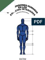 Panero Juan Y Zelnik - Las Dimensiones Humanas en Los Espacios Interiores