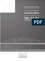 Desarrollo de Habilidades Comunicativas Cuadernillo de Apoyo 2012 Primer Grado
