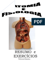 Anatomia & Fisiologia Humana.