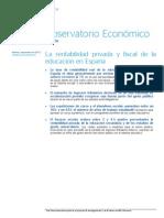 Observatorio Sobre Capital Humano de Bbva Research