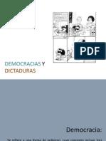 Democracias y Dictaduras1