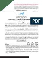 American Hotel Income Properties REIT LP Prospectus