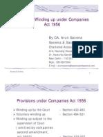 Company Act - Wind Up