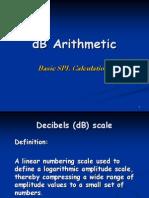 3 Presentation3 5 dB Arithmetic