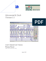 Microwind and DSCH User Manual v3.1 Lite