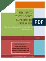 CPU & Multiprocesador (Multihilos) en Multinucleo