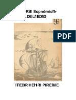 Historia Economica de H. Pirenne