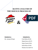Marketing of Services - Pizza Hut vs Dominos