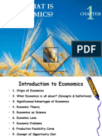 Definition of Economics......