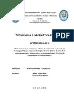 Informe Modular Agreda - Adelmo III