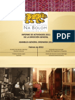 Informe Anual Na Bolom 2012