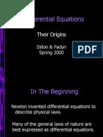 DiffEquation Origins