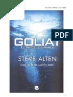 Steve Alten - Goliat El Fin de Los Mares