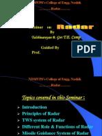 Radio Detection And Ranging (RADAR)