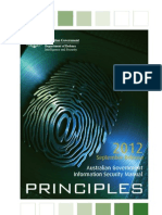 Aus Gov Information Security manual 2012