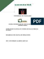Universidad de Guadalajara Manual.