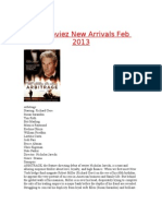 Mo Moviez New Arrivals Feb 2013