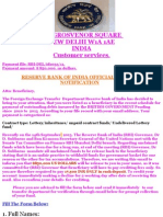 Reserve Bank of India Fund Notification