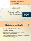 Student International Marketing 15th Edition Chapter 13