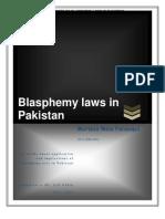Blasphemy Laws Report