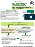 Palliative Care and Advanced Respiratory Disease Poster October 2009 2
