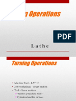 Lathe Operation