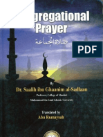 Congregational Prayer - Shaikh Saalih as-Sadlan