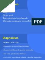 Asma Diagnmostico