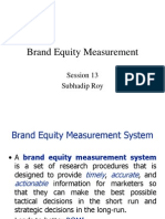Brand Equity Management