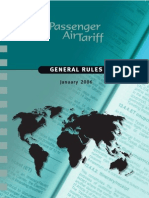Passenger Airtariff General Rules (Baggage Rules, 2006)