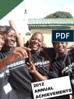 2012 Annual Achievements
