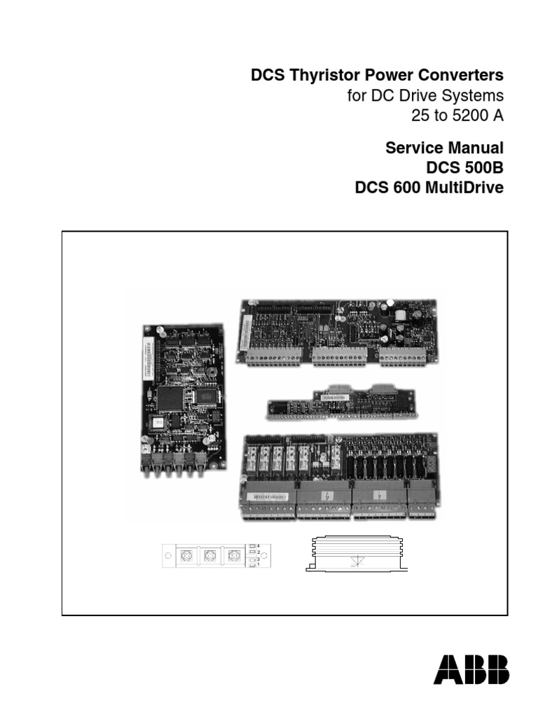 Abb DCS600ServiceManual | Direct Current | Fuse (Electrical)
