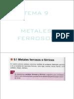 Metales Ferrosos Parte 1