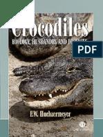 Crocodiles - Biology, Husbandry and Diseases