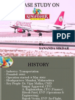 A Case Study on Kingfisher