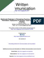 Written Communication 2010 Gilje 494 522