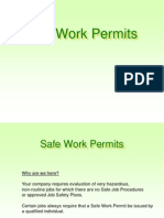 Safe Work Permit