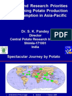 Policies and Research Priorities for Sustaining Potato Production and Consumption in Asia-Pacific